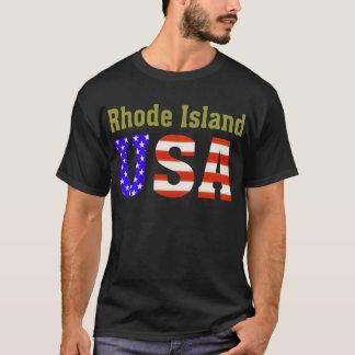 T-shirt Île de Rhode Etats-Unis !