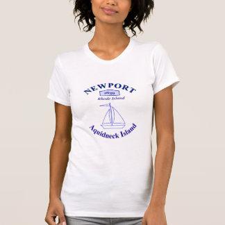 T-shirt Île de Rhode, Newport
