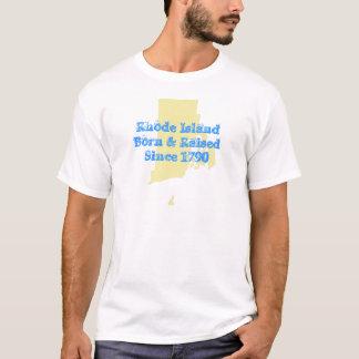 T-shirt Île de Rhode soutenu et augmenté