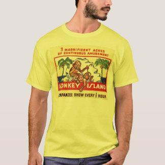 T-shirt Île de singe