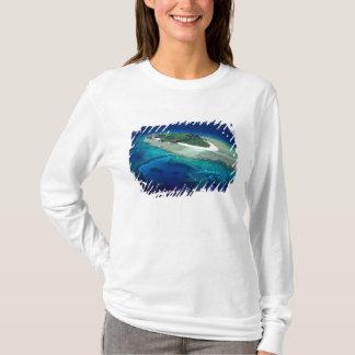 T-shirt Île d'Eori, îles de Mamanuca, Fidji - antenne