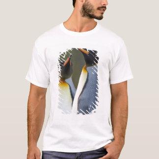 T-shirt Île du sud de la Géorgie, port d'or. Roi