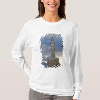 T-shirt Île grecque de Crète et de vieille ville de Chania