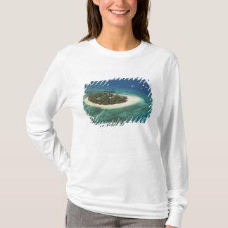 T-shirt Île-hôtel de vague déferlante, Fidji