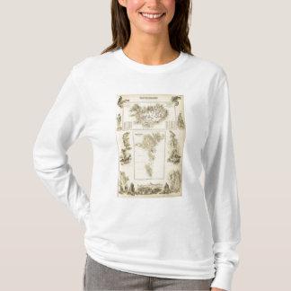 T-shirt Îles danoises dans l'océan Atlantique nord