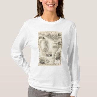 T-shirt Îles dans l'Océan atlantique