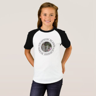 T-shirt Îles de Galapagos fleurissant la pièce en t de