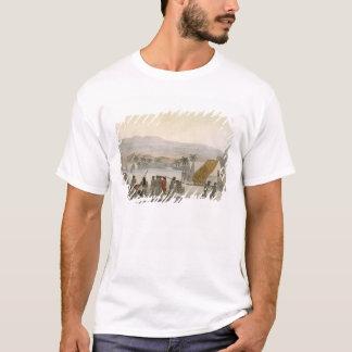 T-shirt Îles de sandwich - un occidental négociant pour le