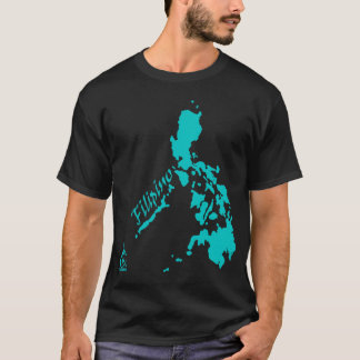 T-shirt Îles philippines philippines turquoises
