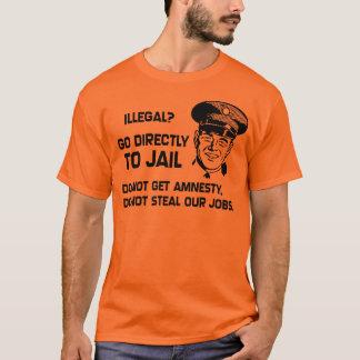 T-shirt Illégal ? Allez directement emprisonner