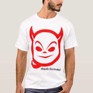 T-shirt Illégalement téléchargé