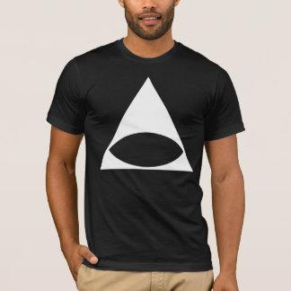 T-shirt Illuminati blanc