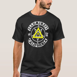 T-SHIRT ILLUMINATI DE CALIF
