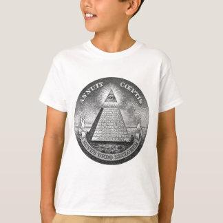 T-shirt Illuminati tout l'oeil voyant
