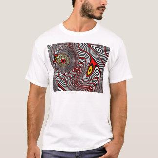 T-shirt Illusion optique d'aura de migraine