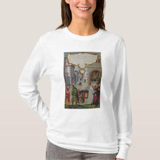 T-shirt Illustration à l'enseignement du Christ