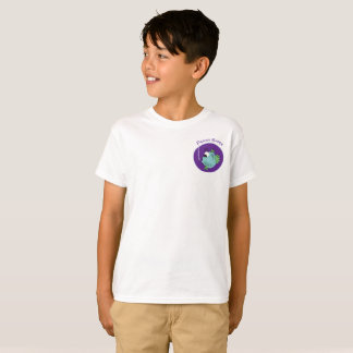 T-shirt Illustration adorable de poissons de Darwin