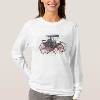 T-shirt Illustration de chariot horseless
