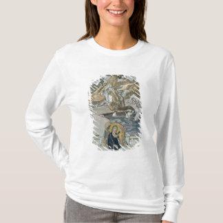 T-shirt Illustration de Comedy divin de Dante '