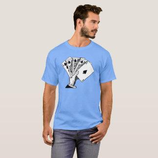 T-shirt Illustration de cru de quinte royale