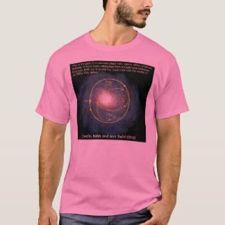 T-shirt Illustration de la NASA : Le trou noir satellise