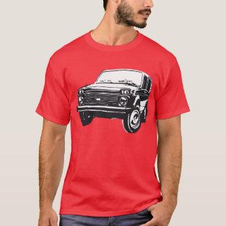 T-shirt Illustration de Lada Niva