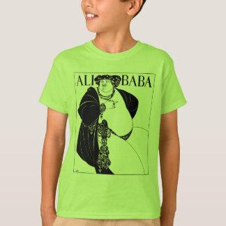T-shirt Illustration de Nouveau d'art : Beardsley - baba