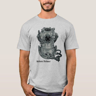T-shirt Illustration de plongée de casque de la marque V