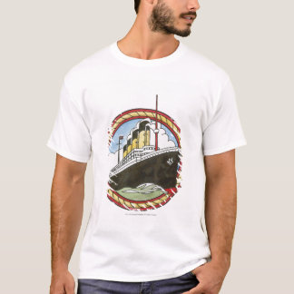 T-shirt Illustration de Titanic