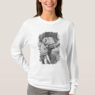 T-shirt Illustration 'des peines de Werther