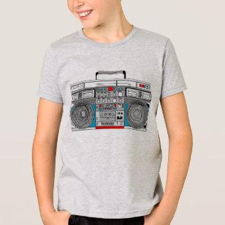 T-shirt illustration du boombox 80s