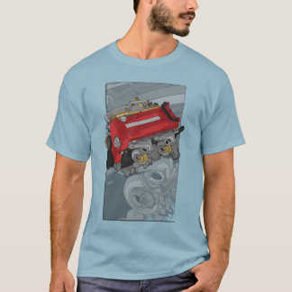 T-shirt Illustration du moteur RB26