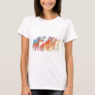 T-shirt Illustrations de great dane