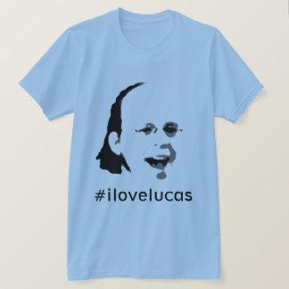 T-shirt #ilovelucas par le JP Choate