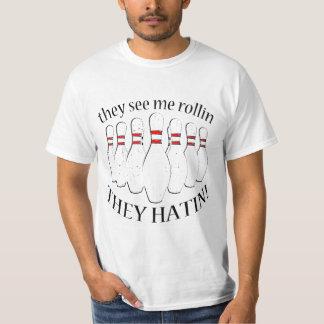 T-shirt Ils me voient rollin