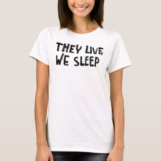 T-shirt Ils vivent graffiti
