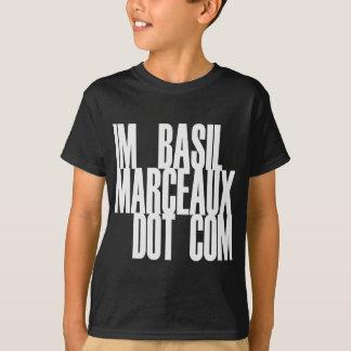 T-SHIRT IM COM DE POINT DE BASIL MARCEAUX