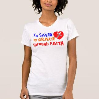 T-shirt I'm SAVED by GRACE through FAITH - Jesus Saves