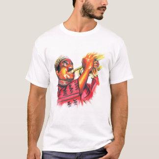 T-shirt Image de couleur de MacTontoh sur l'arrière - plan