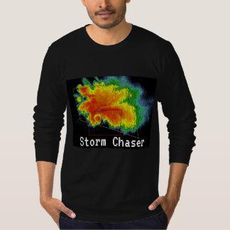 T-shirt Image de radar d'écho de crochet de chasseur de