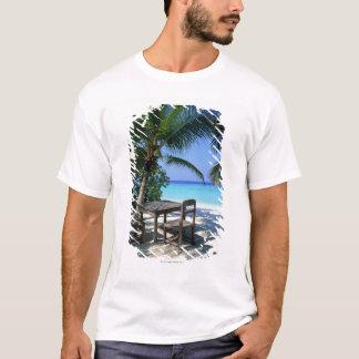 T-shirt Image de station de vacances