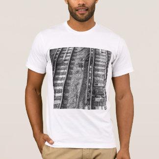 T-shirt Image de voies ferrées
