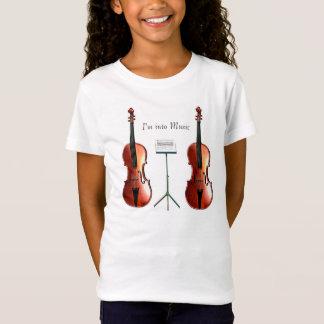T-Shirt Image musicale pour