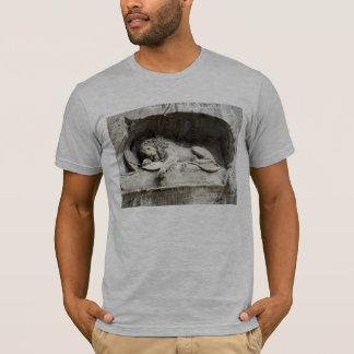T-shirt Images suisses - le monument de lion, Lucerne