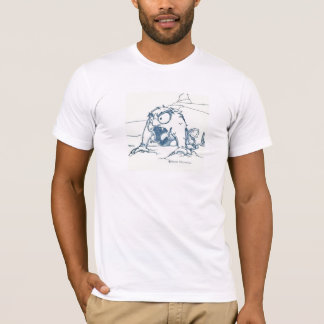 T-shirt Imbécile, surprotecteur en tant que toujours…
