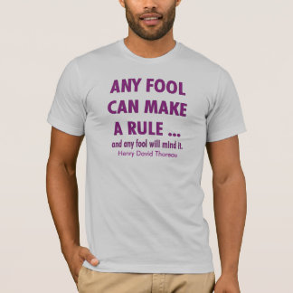 T-shirt Imbéciles et règles