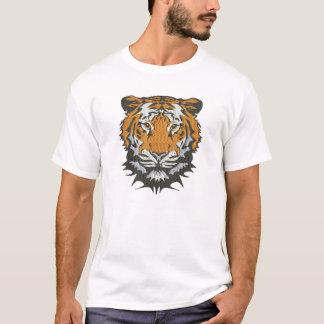 T-shirt imitation de tigre de broderie