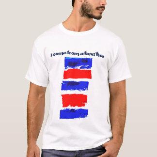 T-shirt immigré patriotique de l'Amérique