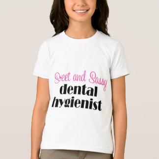T-shirt impertinent d'hygiéniste dentaire
