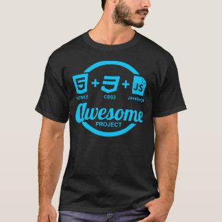 T-shirt impressionnant du projet Css3 de